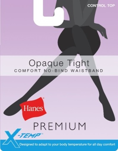 Hanes Opaque Tights C/O /1 women Hanes-C/O
