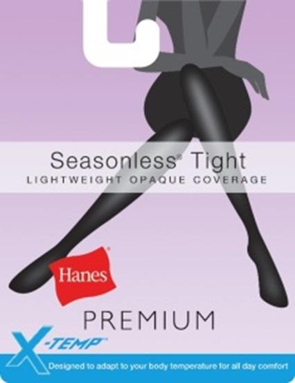 Hanes Lightweight Opaque Tights C/O /1 women Hanes-C/O