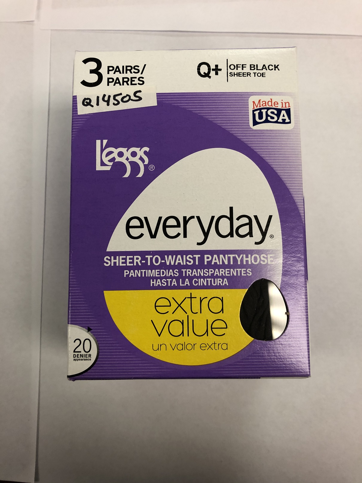 L'eggs Everyday Ultra Sheer Tights /3 PK 14505
