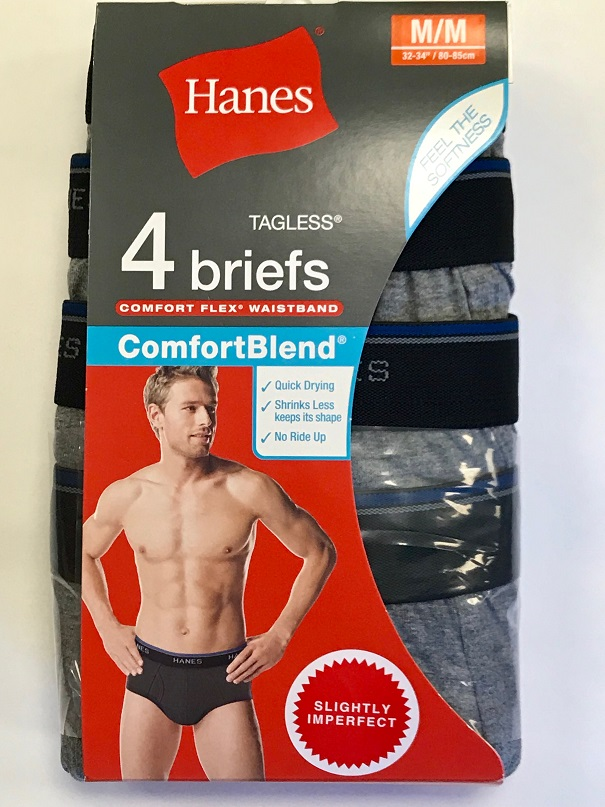 Hanes Mens Color Brief IR /3PK men Hanes-IR