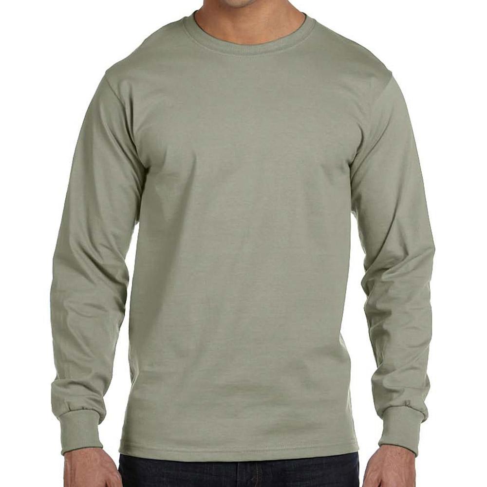 Hanes Men Long-Sleeve T-Shirt C/O /1 men Hanes-C/O