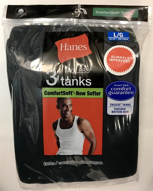 Hanes Mens A-Shirt Color IR /3PK men Hanes-IR