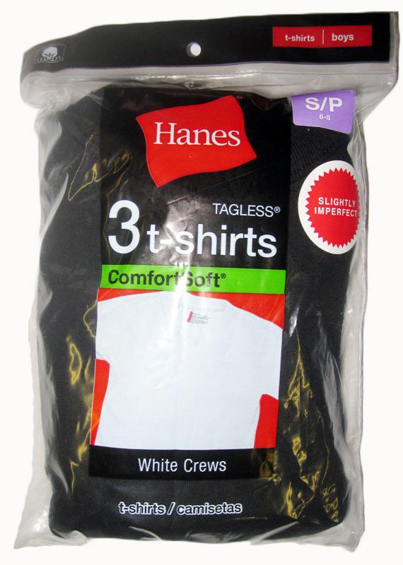 Hanes Boys Color T-Shirt IR /3PK youth Hanes-IR