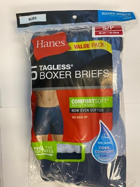 Hanes Men's Boxer Brief C/O /5PK men Hanes-C/O