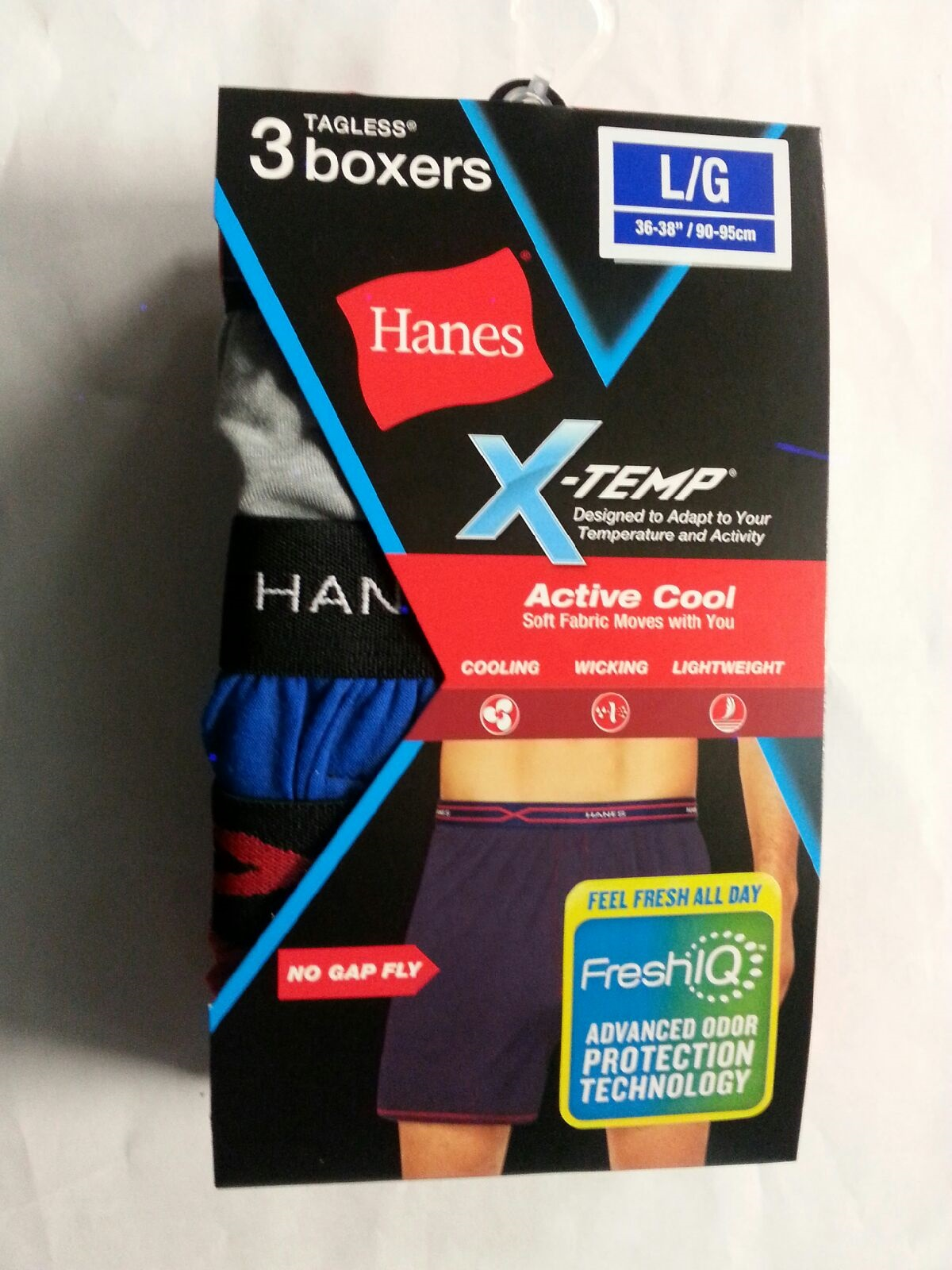 Hanes Knit Boxer C/O /3PK men Hanes-C/O