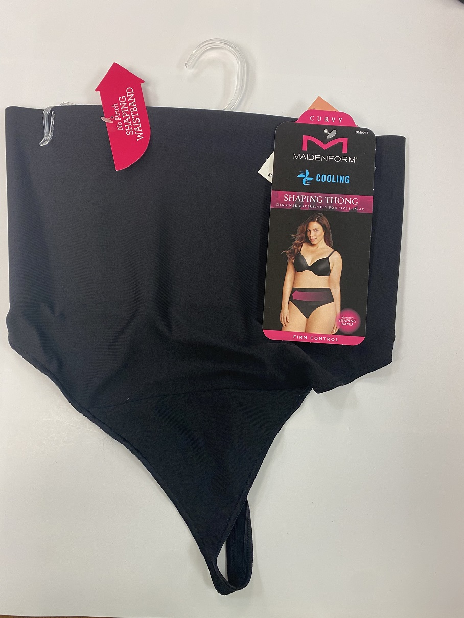Maidenform Tame Your Tummy Thong /1 women Hanes-C/O