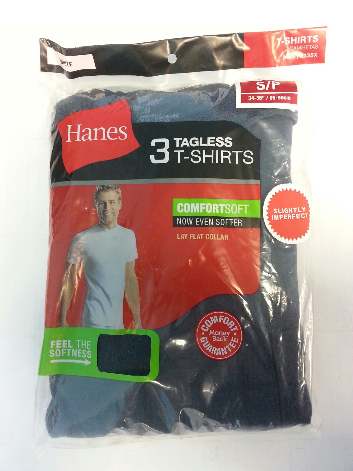 Hanes Mens Pocket-T IR /3PK men Hanes-IR