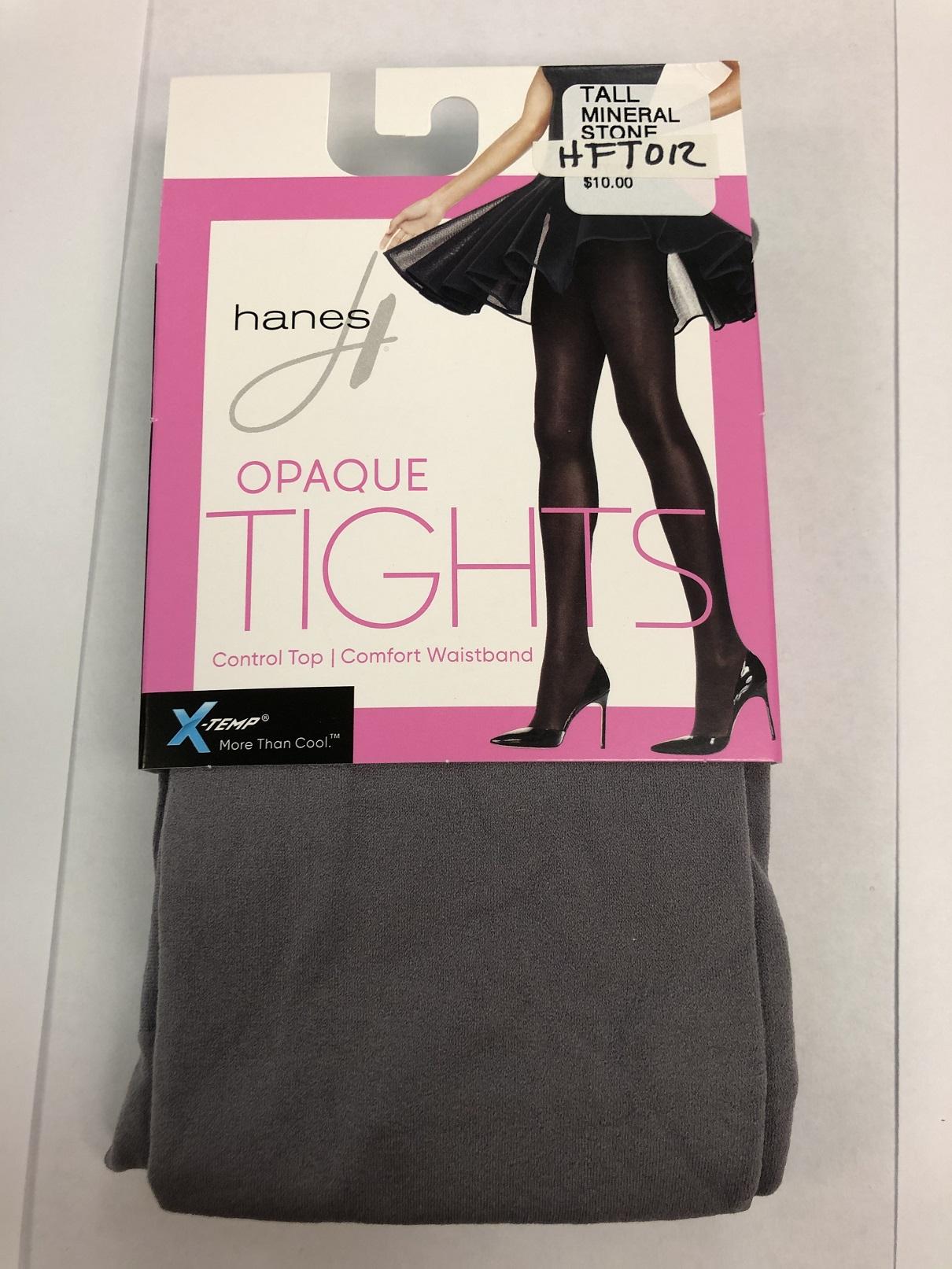 Hanes Opaque Control Top Xtemp Tights C/O /1 women Hanes-C/O