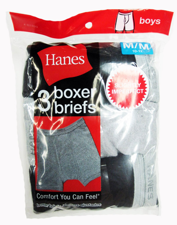 Hanes Boys Boxer Brief IR /3PK youth Hanes-IR