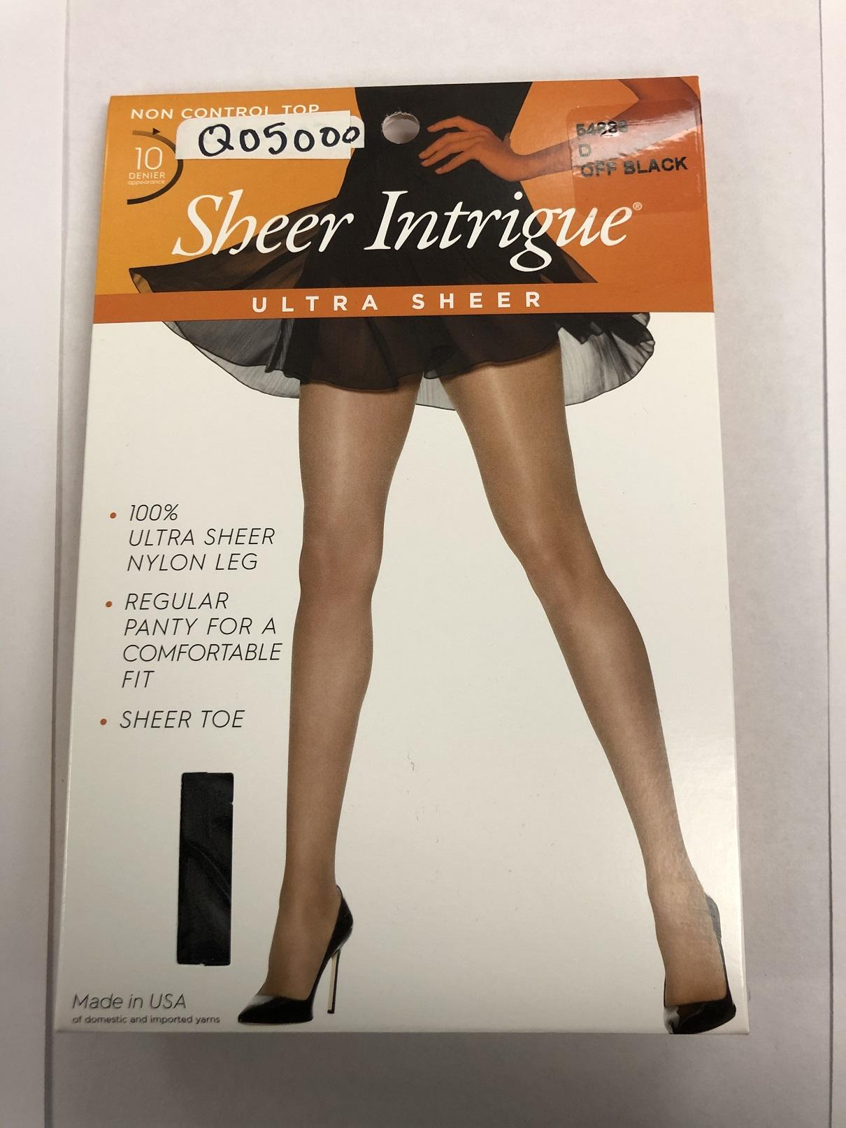 Sheer Intrigue Ultra Sheer C/O /1PK women Hanes-C/O