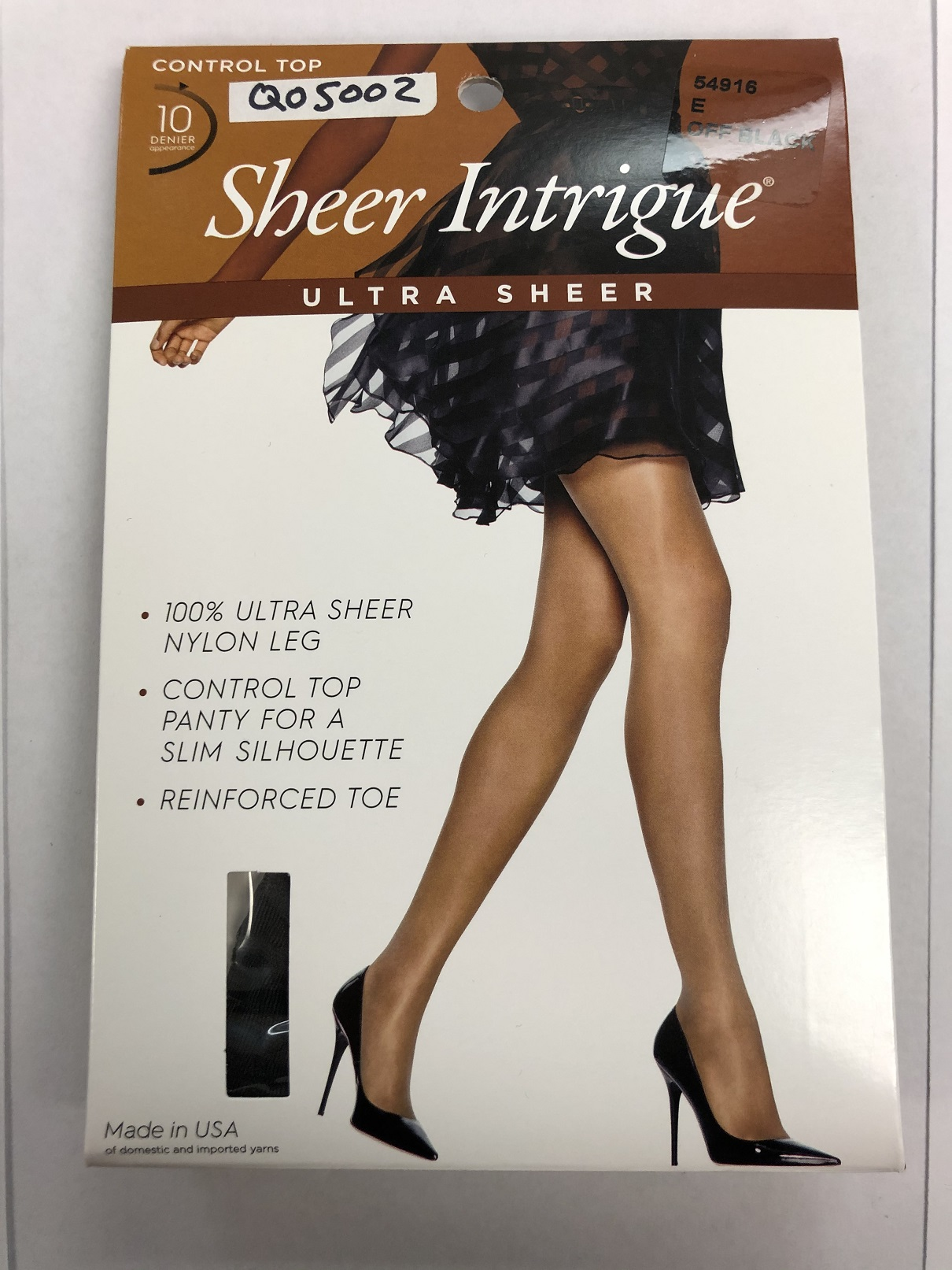 Sheer Intrigue Ultra Sheer Control Top C/O /1PK women Hanes-C/O