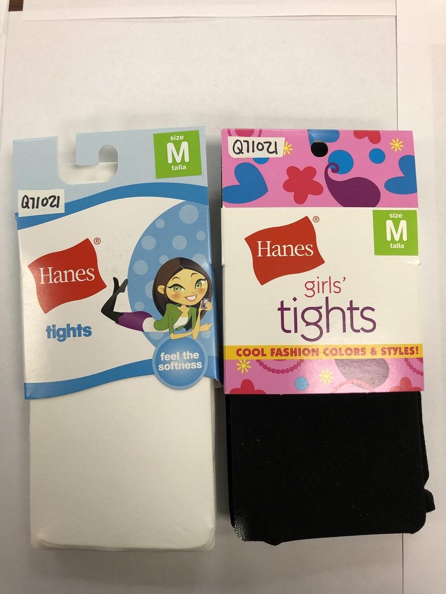 Hanes Girls Opaque Tight C/O /1 women Hanes-C/O
