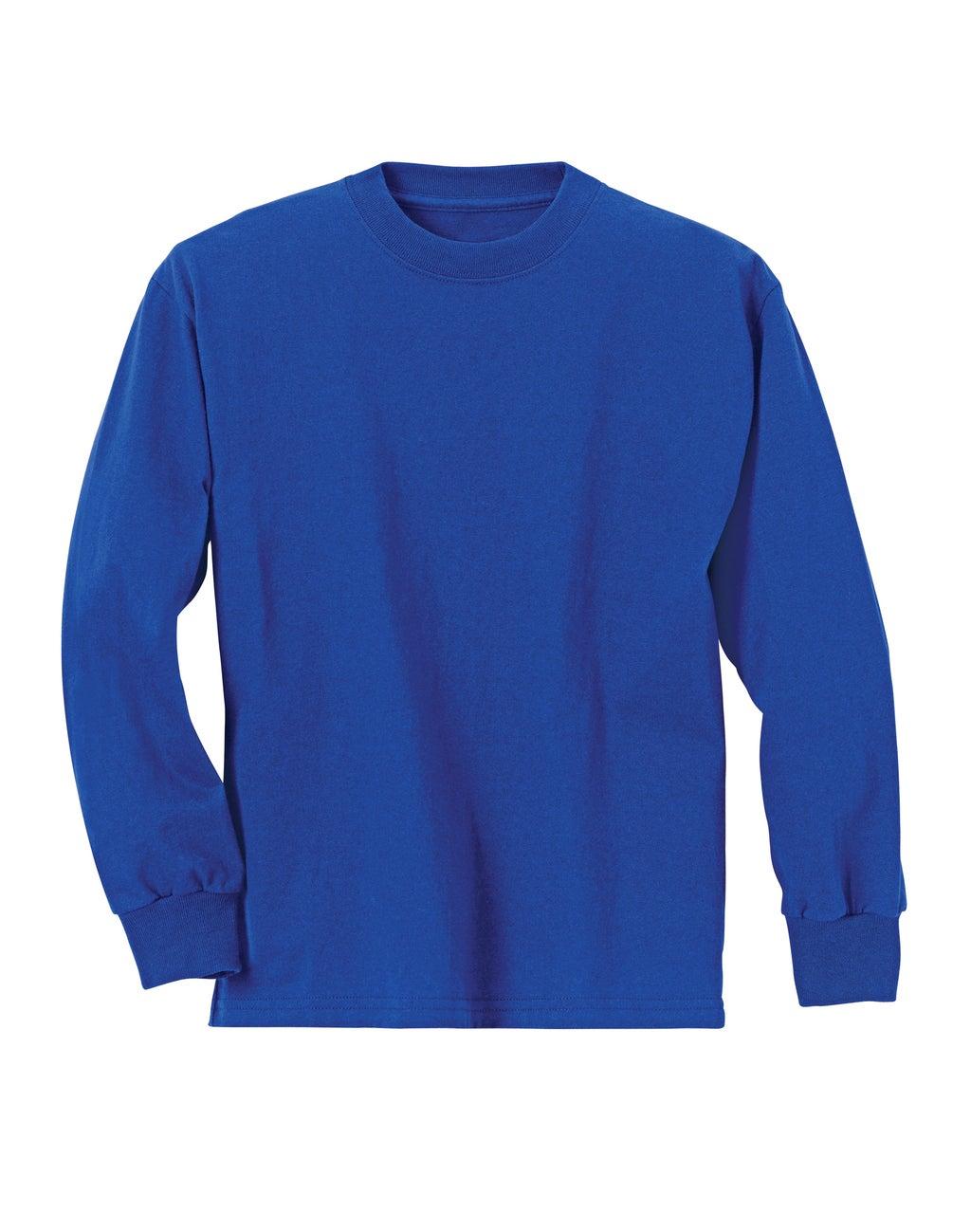Hanes Boys Long sleeve T-Shirt IR /1 youth Hanes-C/O